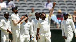 ভারত বনাম অস্ট্রেলিয়া, দ্বিতীয় টেস্ট