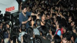 উত্তাল যাদবপুর বিশ্ববিদ্যালয়