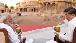 মমল্লপুরমে আলোচনায় মোদী-চিনফিং