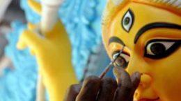 দুর্গাপুজোর চতুর্থীতে কলকাতা