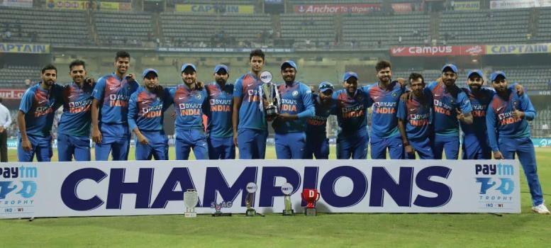 ভারত বনাম ওয়েস্ট ইন্ডিজ টি২০ সিরিজ
