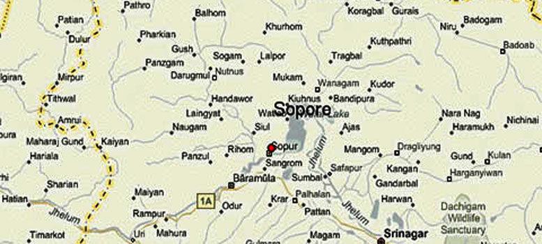 জম্মু-কাশ্মীরের সোপোর