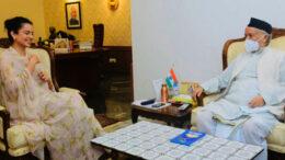 রাজ্যপালের সঙ্গে দেখা কঙ্গনা রানাউতের
