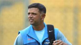 শ্রীলঙ্কাগামী ভারতীয় ক্রিকেট দলের কোচ রাহুল দ্রাবিড়