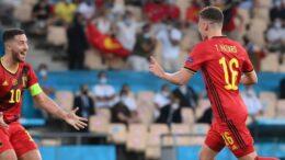 Euro 2020, Belgium vs Portugal