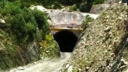 সেবক-রংপো রেল পথে ধস