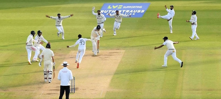 ইংল্যান্ড বনাম ভারত দ্বিতীয় টেস্টের পঞ্চম দিন