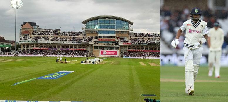 ইংল্যান্ড বনাম ভারত প্রথম টেস্টের দ্বিতীয় দিন