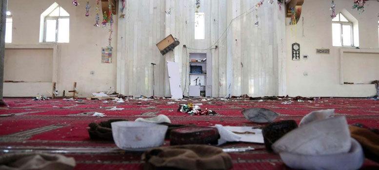 আফগানিস্তানের মসজিদে বিস্ফোরণ